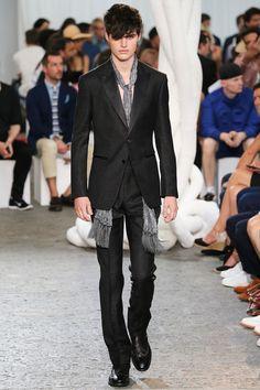John Varvatos Spring-Summer 2015 Men's Collection | Milan Fashion Week | Model: Ben Lark
