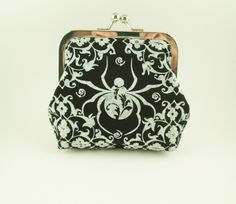 Witch's Spider Coin Purse by AddyGirlAccessories on Etsy, $20.00