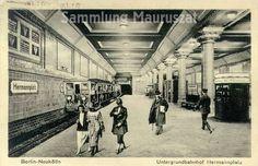 Berlin: U-Bahnhof Hermannplatz, 1926