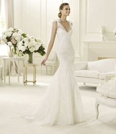 9 Stunning Manuel Mota Wedding Dresses | OneWed