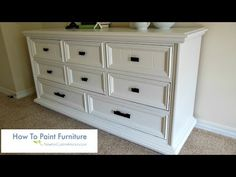How To Paint Furniture - YouTube