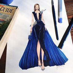 Blue day with the heavy rain.... so cold and lonely   #sketch #sketching #draw #drawing #fashion #fashionart #fashionsketch #fashionsketching #fashiondrawing #fashionillustrator #fashionillustration #illustrator #illustration #art #artwork #instaart #eliesaab