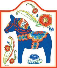 Ceramic Cheese board w/ Cork Backing: Blue Horse – ScandinavianGiftOutlet