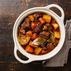 I'm checking out a delicious recipe for Country Beef and Vegetable Stew from Smith's!