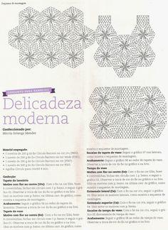 CROCHE COM RECEITA: Tapetes com mini flores em crochê