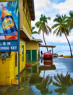 The fishing village of Castara after the rain in Trinidad and Tobago. I've been here, but can't remember it, too long ago!