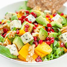 Mango, Fruit Salad, Cobb Salad, Calzone, Potato Salad, Salad Recipes, Food And Drink, Blog, Sweets