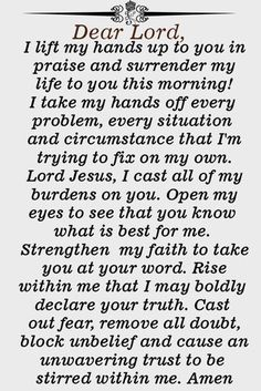 Deliver Your Life to God with this Powerful Prayer - Jesus Quote - Christian Quote - Deliver Your Life to God with this Powerful Prayer The post Deliver Your Life to God with this Powerful Prayer appeared first on Gag Dad. Prayer Scriptures, Bible Prayers, Catholic Prayers, Faith Prayer, Prayer Quotes, Bible Verses, Prayer To God, Jesus Prayer, Devotional Quotes
