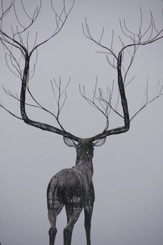 Sculpture by Byeong Doo Moon