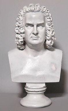 Continental German  Austrian figure bust plaster