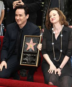 Joan and John Cusack are the kind of normal, well-adjusted celebrities we're unused to seeing in the limelight. Cusacks, come join us for supper!