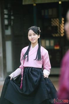 Kim So Hyun Fashion, Korean Fashion, Korean Traditional, Traditional Outfits, Korean Actresses, Actors & Actresses, Korean Tv Series, Kim Sohyun, Kim Yoo Jung