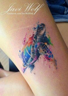 Image result for turtle tattoo with plumeria
