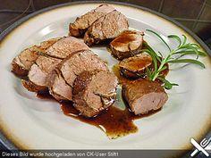 Rosmarin - Balsamico - Schweinefilet, ein schmackhaftes Rezept aus der Kategorie Schwein. Bewertungen: 769. Durchschnitt: Ø 4,6.