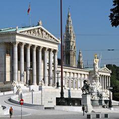 Viena - Ringstrasse Parlamento