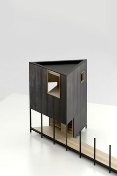 Jean-francois madec architect observatory birds the viscount. Water Architecture, Sketchbook Architecture, Collage Architecture, Maquette Architecture, Landscape Architecture Model, Architecture Drawing Plan, Architecture Model Making, Conceptual Architecture, Minimalist Architecture
