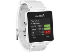 GARMIN vivoactive(TM) Smartwatch (White) Ultrathin GPS smartwatch with sunlight-readable, high-resolution color touchscreen; Fitness Supplies, Running Watch, Wearable Technology, Heart Rate Monitor, Heart Jewelry, Fitness Tracker, Smart Watch, Jewelry Watches, Cocktail