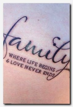Znalezione obrazy dla zapytania tattoos for men with family meaning