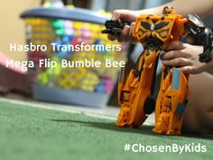 Christmas Gift – Hasbro Transformers Mega Flip Bumble Bee at Walmart #ChosenByKids