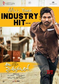 Allu Arjun starrer Ala Vaikunthapurramloo 2020 movie Sankranthi Winner Posters and All-Time Industry hit (Non-BB) HD Wallpapers and images Dj Movie, Movie Plot, Hits Movie, Telugu Movies Download, Download Free Movies Online, Tamil Movies, Hindi Movies, Allu Arjun Images, 2020 Movies