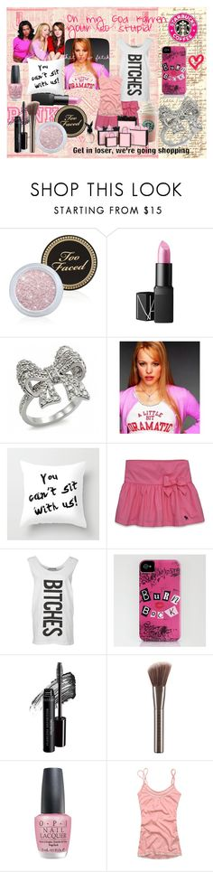 """On Wednesdays we wear PINK!"" by november17 ❤ liked on Polyvore featuring Too Faced Cosmetics, NARS Cosmetics, Fantasy Jewelry Box, Abercrombie & Fitch, Junk Food Clothing, Bare Escentuals, Urban Decay, OPI, Hollister Co. and women's clothing"
