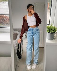 Glamouröse Outfits, Swaggy Outfits, Indie Outfits, Teen Fashion Outfits, Retro Outfits, Cute Casual Outfits, Stylish Outfits, Summer Outfits, Back To School Outfits