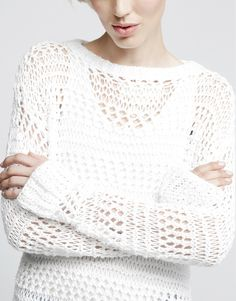 Penelope Sweater// beautiful style for summer nights// Indie Fashion, Look Fashion, Autumn Fashion, Fashion Outfits, Womens Fashion, Beautiful Outfits, Cool Outfits, Angel Outfit, Crochet Fashion