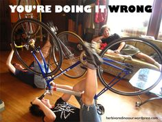 doing it wrong bike
