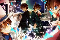 Détective Conan - Shinichi Kudo, Kaito Kid & Conan Edogawa