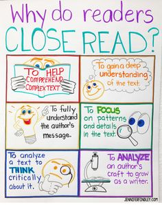 Close Reading Tips and Strategies for Upper Elementary Close reading anchor chart to introduce the benefits and purpose of close reading to your students The post Close Reading Tips and Strategies for Upper Elementary appeared first on School Ideas. Close Reading Poster, Close Reading Lessons, Close Reading Strategies, Reading Posters, Reading Tips, Reading Workshop, Teaching Reading, Cloze Reading, Guided Reading