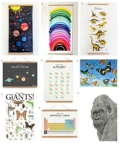 Beautiful and Educational Posters for Kids - how we montessori