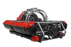A personal submarine!!!  Even James Bond might be jeleaous.  C-Explorer 5 submersible