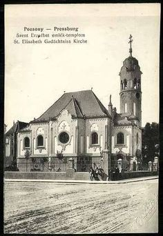 Trenčianska ulica Bratislava, Time Travel, Notre Dame, Taj Mahal, Times, Architecture, City, Buildings, Nostalgia
