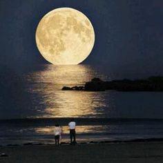 --Super Moon-- Key West, Florida