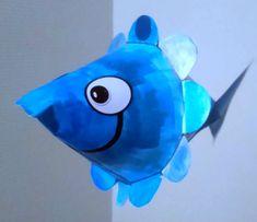 161_Pâques_Big fish (57) Fish Crafts, Art Plastique, Tour, Paper Art, Art For Kids, Sonic The Hedgehog, Avril, Oeuvres, Moment