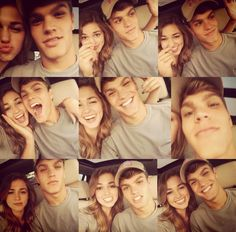 Love is being stupid together. Duck Dynasty's Sadie and her boyfriend Blake