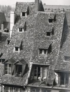 Les toits de France, Hans Silvester.  (via grofjardanhazy)