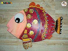 anjelicek / Dekorácia na zavesenie - rybka Saddle Bags, Sling Bags
