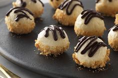 Enjoy the soft and creamy texture and taste of Philly cream cheese in our No-Bake Cheesecake Truffles. Whip up a batch of these luxurious truffles to share with friends and family.