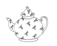 Free Dearie Dolls Digi Stamps: Tea anyone?
