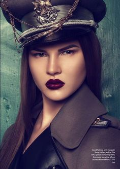 Rumours Magazine 'Military Glam' 5
