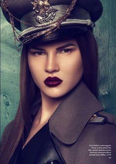 Rumours Magazine 'Military Glam' 5
