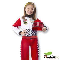 Para todos los niños y niñas a los que les gusta la velocidad el disfraz de piloto de carreras les va a entusiasmar.  https://cucutoys.es/melissa-doug/1434-melissa-doug-disfraz-de-piloto-de-carreras.html  #cucutoys #melissa&doug #disfraces #carnaval #niños #niñas #piloto #carreras