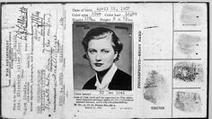 WWII glamour, and a war correspondent, too!