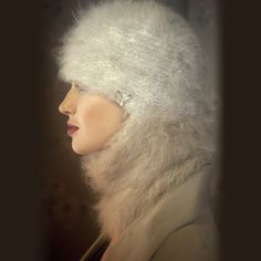 Ambika Friendly Fur Angora Balaclava | 2013 Gift Guide: Winter Wonderland | Organic Spa Magazine