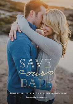 Save the Date by Minted