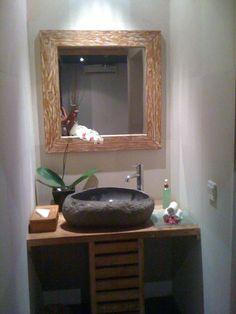 vasque galet salle de bain