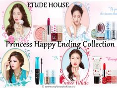 "New blogpost: ""Etude House Princess Happy Ending Collection""  http://www.mybeautykiss.ro/EtudeHouse_PrincessHappyEnding.php"