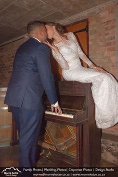 Loving newly wed couple kissing while playing on an antique piano. #bride #groom #weddingcouple #justmarried #wedding #weddingphotography #weddingphotographer #weddinginspiration #beautifulbride Please like and repin. Also visit my website above for more photos and have a look at what I do. Please go and follow and like me on Facebook and Instagram Newly Wed, Couple Kissing, Just Married, More Photos, Wedding Couples, Beautiful Bride, Bride Groom, Piano, Wedding Inspiration