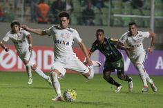 Contra o América-MG, no primeiro turno, o Corinthians venceu